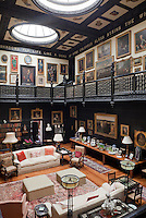 Generations of paintings collected by the Lygons are displayed in the staircase hall, examples of French, German, Flemish and Dutch can all be found