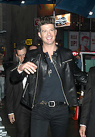 May 24, 2012: Robin Thicke at Good Morning America to discuss his new show, Duets in New York City. © RW/MediaPunch Inc.