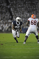 27 September 2008:  Penn State DE Maurice Evans (48)..The Penn State Nittany Lions defeated the Illinois Fighting Illini 38-24 September 27, 2008 at Beaver Stadium in State College, PA..