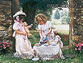 CHILDREN, KINDER, NIÑOS, paintings+++++,USLGSK0071,#K#, EVERYDAY ,Sandra Kock, victorian
