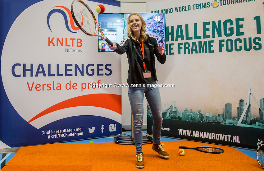 Rotterdam, Netherlands, December 17, 2016, Topsportcentrum, Lotto NK Tennis,  KNLTB Plaza <br /> Photo: Tennisimages/Henk Koster