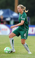 Sara Larsson..Saint Louis Athletica defeated Sky Blue F.C 1-0, at Anheuser-Busch Soccer Park, Fenton, MO.