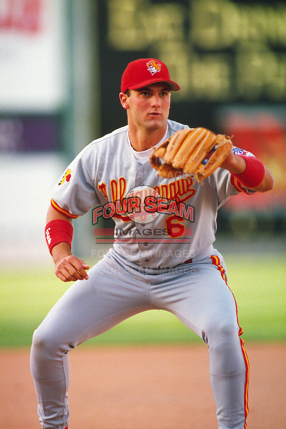 1997: Paul Konerko of the Albuquerque Dukes in action during the 1997 season in Las Vegas,NV.  Photo by Larry Goren/Four Seam Images