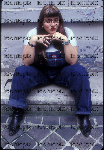CANDYE KANE (November 13, 1961 – May 6, 2016) - (November 13, 1961 – May 6, 2016)Photosession in Paris France - 16 Jan 1996.  Photo credit: Christian Rose/Dalle/IconicPix ** UK ONLY **