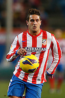 03.02.2013 SPAIN -  La Liga 12/13 Matchday 22th  match played between Atletico de Madrid vs Real Betis Balompie (1-0) at Vicente Calderon stadium. The picture show  Jorge Resurreccion Koke (Spanish midfielder of At. Madrid)
