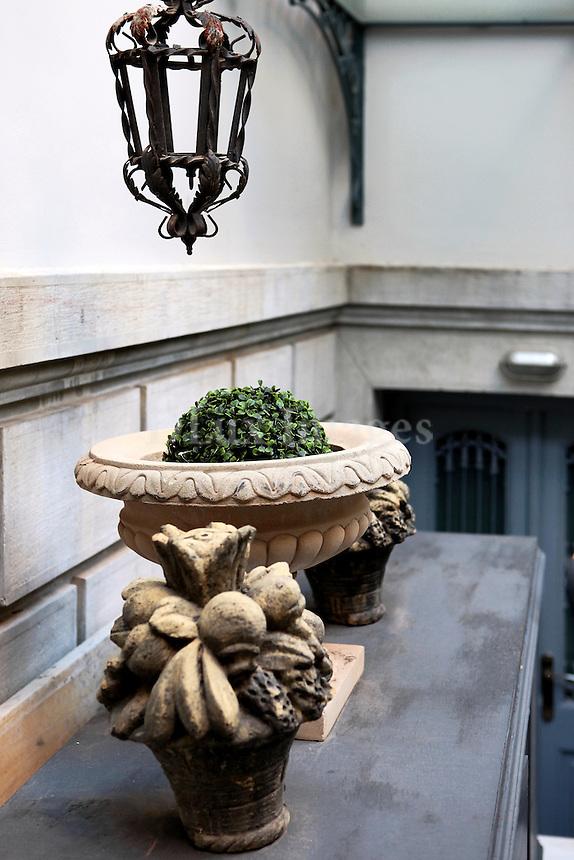 traditional decorative clay jars