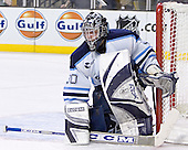 Ben Bishop - The Boston College Eagles defeated the University of Maine Black Bears 4-1 in the Hockey East Semi-Final at the TD Banknorth Garden on Friday, March 17, 2006.