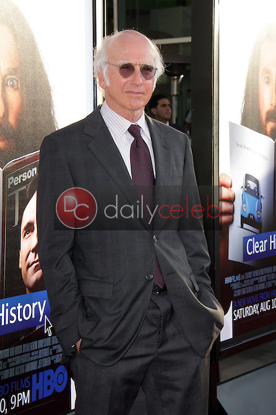 Larry David<br /> at the &quot;Clear History&quot; Los Angeles Premiere, Arclight, Hollywood, CA 07-31-13<br /> David Edwards/DailyCeleb.Com 818-249-4998