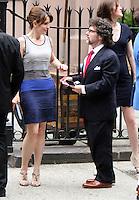 June 30, 2012 Tina Fey, Jeff Richmond attend the Alec Baldwin and Hilaria Thomas Wedding Day at Basilica of St. Patrick's Old Cathedral in Little Italy in New York City.Credit:&copy; RW/MediaPunch Inc. /*NORTEPHOTO.COM*<br /> *SOLO*VENTA*EN*MEXiCO* *CREDITO*OBLIGATORIO** *No*Venta*A*Terceros* *No*Sale*So*third* ***No Se*Permite*Hacer*Archivo** *No*Sale*So*third*&Acirc;&copy;Imagenes con derechos de autor,&Acirc;&copy;todos reservados. El uso de las imagenes est&Atilde;&iexcl; sujeta de pago a nortephoto.com El uso no autorizado de esta imagen en cualquier materia est&Atilde;&iexcl; sujeta a una pena de tasa de 2 veces a la normal. Para m&Atilde;&iexcl;s informaci&Atilde;&sup3;n: nortephoto@gmail.com* nortephoto.com.