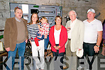 Lartigue Railway Family Gathering: Pictured at the Lartigue Railway family gathering held in Listowel on Friday evening last were John Moore, Naoimi & Lily O'Quigley, Ruth O'Quigley, Liam Grimes & James Moore.