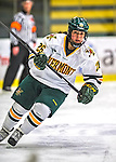2 February 2013: University of Vermont Catamount forward Sarah Campbell, a Sophomore from Saratoga Springs, NY, in action against the University of New Hampshire Wildcats at Gutterson Fieldhouse in Burlington, Vermont. The Lady Wildcats defeated the Lady Catamounts 4-2 in Hockey East play. Mandatory Credit: Ed Wolfstein Photo
