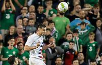 Dublin, Ireland - Saturday June 02, 2018: Matt Miazga during an international friendly match between the men's national teams of the United States (USA) and Republic of Ireland (IRE) at Aviva Stadium.