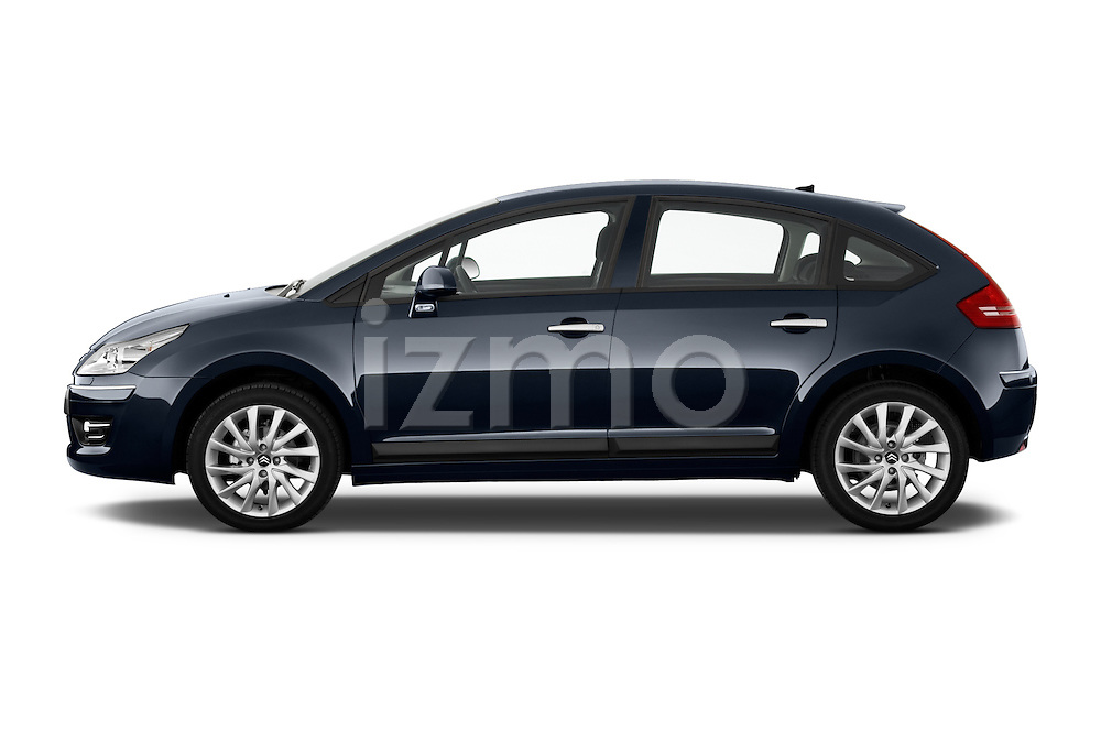 Driver side profile view of a 2010 Citroen C4 Millenium 5 Door Hatchback 2WD