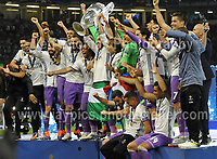 during the UEFA Champions league final  between Juventus and Real Madrid at the National Stadium of Wales on Saturday 3rd June 2017<br /> <br /> <br /> Jeff Thomas Photography -  www.jaypics.photoshelter.com - <br /> e-mail swansea1001@hotmail.co.uk -<br /> Mob: 07837 386244 -