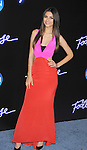 "WESTWOOD, CA - OCTOBER 03: Victoria Justice attends the ""Footloose"" Los Angeles Premiere at Regency Village Theatre on October 3, 2011 in Westwood, California."