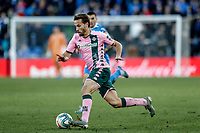 26th January 2020; Coliseum Alfonso Perez, Madrid, Spain; La Liga Football, Club Getafe Club de Futbol versus Real Betis; Sergio Canales (Betis) braks into the Getafe box on the ball
