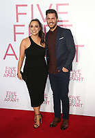 07 March 2019 - Westwood, California - Aijia Lise, Andy Grammer. &quot;Five Feet Apart&quot; Los Angeles Premiere held at the Fox Bruin Theatre. <br /> CAP/ADM/FS<br /> &copy;FS/ADM/Capital Pictures