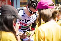 Picture by Alex Whitehead/SWpix.com - 16/07/2017 - Cycling - Le Tour de France - Stage 15, Laissac-Severac L'Eglise to Le Puy-En-Velay - UAE Team Emirates' Ben Swift.