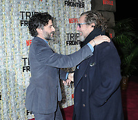 03 March 2019 - New York, New York - Oscar Isaac and Julian Schnabel. The World Premiere of &quot;Triple Frontier&quot; at Jazz at Lincoln Center. <br /> CAP/ADM/LJ<br /> &copy;LJ/ADM/Capital Pictures