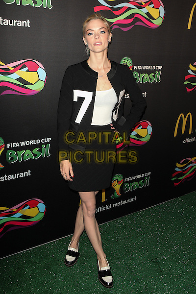 NEW YORK, NY -  JUNE 5: Jaime King attends the Play Ole Ole Game for the 2014 FIFA World Cup Brazil event at Pillars 38 on June 5, 2014 in New York City.<br />  CAP/MPI/COR<br /> &copy;Corredor99/ MediaPunch/Capital Pictures