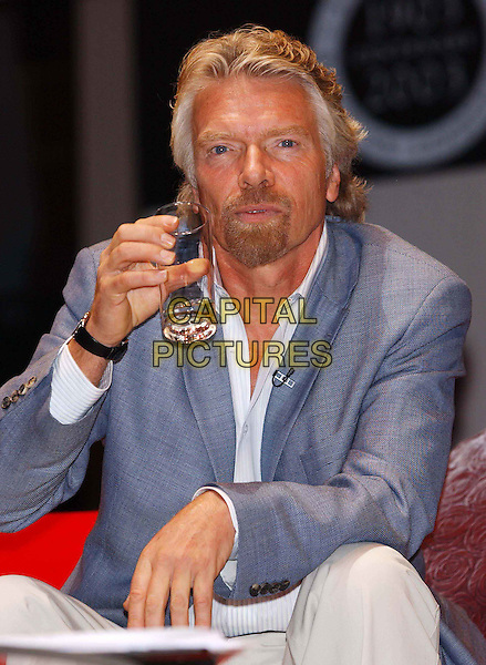 RICHARD BRANSON.with concorde model he was given at.Institute of Directors Centenary Convention - Living Legends at the Royal Albert Hall.www.capitalpictures.com.sales@capitalpictures.com.©Capital Pictures