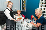 Food Meets Fashion: pictured at the Food meets Fashion event in aid of St. Vincent de Paul at the Marine Hotel, Ballybunion were Hayley Scanlon, Nora Finnucane & Eleanor Quinlan.