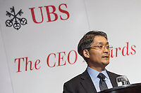 UBS CEO Awards Asia Pacific 2013