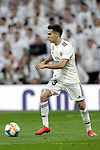 Real Madrid CF's Sergio Reguilon during the King's Cup semifinals match. February 27,2019. (ALTERPHOTOS/Alconada)
