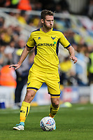 James Henry of Oxford United during the Sky Bet League 1 match between Peterborough and Oxford United at the ABAX Stadium, London Road, Peterborough, England on 30 September 2017. Photo by David Horn.