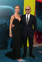 6 August 2018-  Hollywood, California - Rosie Huntington-Whiteley, Jason Statham. Warner Bros. Pictures And Gravity Pictures' Premiere Of &quot;The Meg&quot; held at TCL Chinese Theatre IMAX. <br /> CAP/ADM/FS<br /> &copy;FS/ADM/Capital Pictures