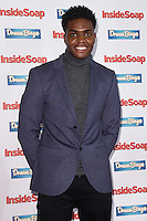 Duayne Boachie<br /> at the Inside Soap Awards 2016 held at the Hippodrome Leicester Square, London.<br /> <br /> <br /> ©Ash Knotek  D3157  03/10/2016