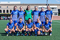 Boston, MA - Saturday June 24, 2017: Boston Breakers starting eleven during a regular season National Women's Soccer League (NWSL) match between the Boston Breakers and the North Carolina Courage at Jordan Field.