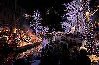 San Antonio Riverwalk Holiday Lights
