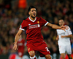 Emre Can of Liverpool frustrated as a chance to score goes begging during the Champions League Group E match at the Anfield Stadium, Liverpool. Picture date 13th September 2017. Picture credit should read: Simon Bellis/Sportimage