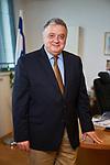 Germany, Berlin, 2017/10/25<br /> <br /> Jeremy Issacharoff, seit dem 29. August 2017 Botschafter der Staates Israel in Deutschland.
