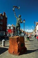 John Muir statue, Dunbar, East Lothian