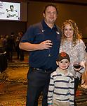 The O'Harra family during the 35th Annual Bobby Dolan Baseball Dinner in the Reno Ballroom on Thursday, January 17, 2019.