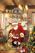 Interlitho, Patricia, CHRISTMAS SANTA, SNOWMAN, paintings, santa, golden retriever, dogs(KL5745,#X#) Weihnachtsmänner, Schneemänner, Weihnachen, Papá Noel, muñecos de nieve, Navidad, illustrations, pinturas