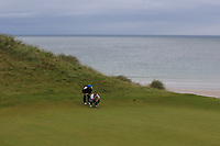 Brian Slattery (Ballybunion) on the 16th green during the Munster Final of the AIG Junior Cup at Tralee Golf Club, Tralee, Co Kerry. 13/08/2017<br /> Picture: Golffile | Thos Caffrey<br /> <br /> <br /> All photo usage must carry mandatory copyright credit     (&copy; Golffile | Thos Caffrey)