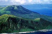 Volcanoes on Nguna island, close to the island of Efate, Vanuatu.