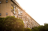 SERBIA, Belgrade, Apartment buildings in Novi Beograd or New Belgrade, Eastern Europe