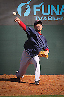 Pitcher Daisuke Matsuzaka Boston Red Sox return for spring training, Fort Myers, Florida, USA, Feb. 13, 2011. Photo by Debi Pittman Wilkey