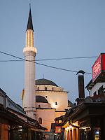 Gazi Husrevbey Mosque in Sarajevo. Built in 1531.