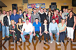 40TH PARTY: Well known Tralee DJ Francie Breen from Connolly Park (seated centre), celebrating his 40th birthday with friends and family in Austin Stacks GAA Clubhouse on Saturday night.   Copyright Kerry's Eye 2008