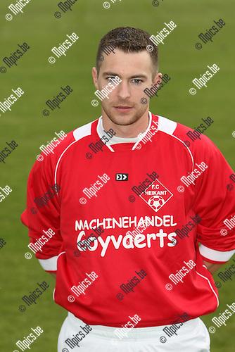 2009-07-19 / voetbal / seizoen 2009-2010 / Heikant / Tim Thyssen..Foto: Maarten Straetemans (SMB)
