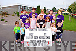 Locals in Duagh are in training for their Fun Run/Walk on September 28th in aid of the school. Pictured were: Cody Collins, Abbie McElligott, Hayley McElligott, Sadie O'Connor, Jack O'Carroll, Niamh Buckley, Sinead Buckley and Cian O'Carroll. Bcak l-r were: Sam McElligott, Rose Collins, marie O'Carroll, Shannon McCormick and Doreen Buckley.