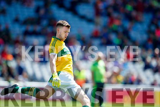 Brian Kelly Kerry in action against  Galway in the All Ireland Senior Football Quarter Final at Croke Park on Sunday.
