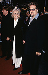 "Glenn Close and Robert Pastorelli pictured at the opening night of ""The Producers"" at St. James Theatre in New York City on April 19, 2001."