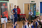 Cricket Wales .Launch of ASDA KWIK Cricket at St Mary's RC School, Brynmawr..14.05.13.©Steve Pope