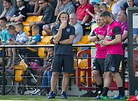 Wycombe Wanderers Manager Gareth Ainsworth during the pre season friendly match between Slough Town and Wycombe Wanderers at Arbour Park Stadium, Slough, England on 8 July 2017. Photo by Andy Rowland.